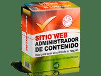 Planes web precio Administrador de Contenido